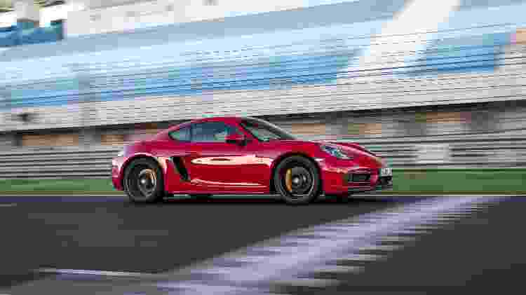 Porsche 718 Cayman GTS - Divulgação/Porsche - Divulgação/Porsche
