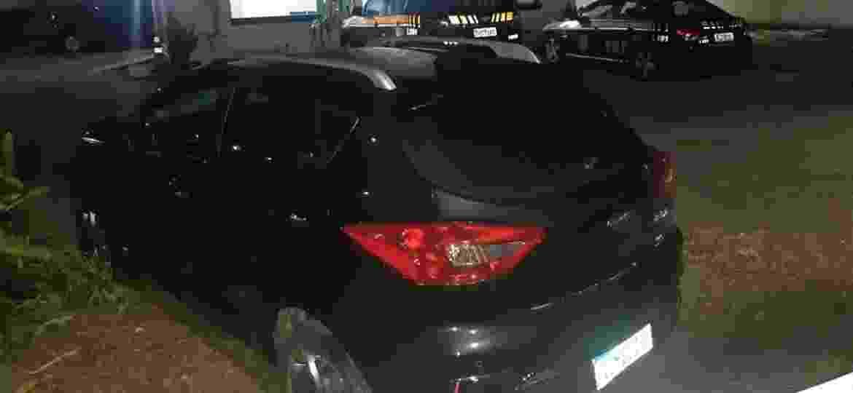 JAC iEV40 havia sido roubado em Curitiba - Reprodução/PRF
