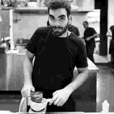 O cozinheiro João Figueiras - Arquivo pessoal - Arquivo pessoal