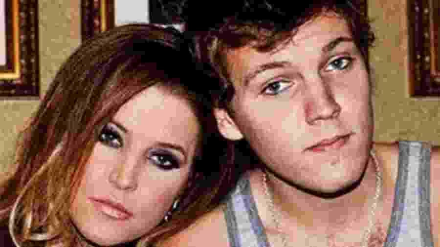 Lisa Marie Presley e o filho Benjamin Keough - Reprodução/Instagram