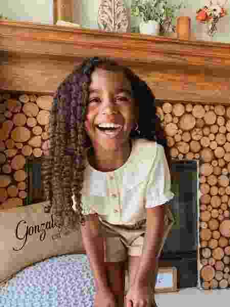 Nahla Haze tem 4 anos - Reprodução/Instragram