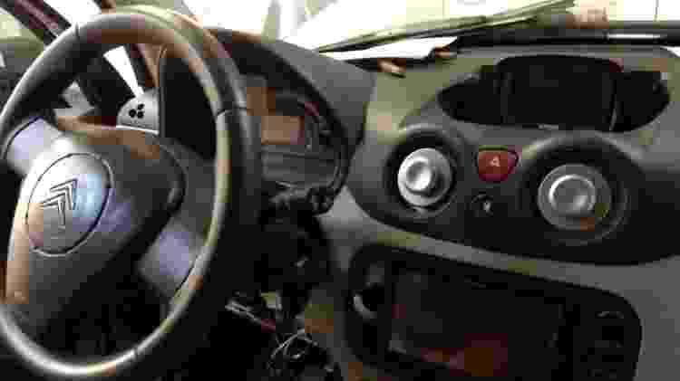 Citroën C3 elétrico porto alegre Julio Cesar Otero Boehl interior - Arquivo pessoal - Arquivo pessoal