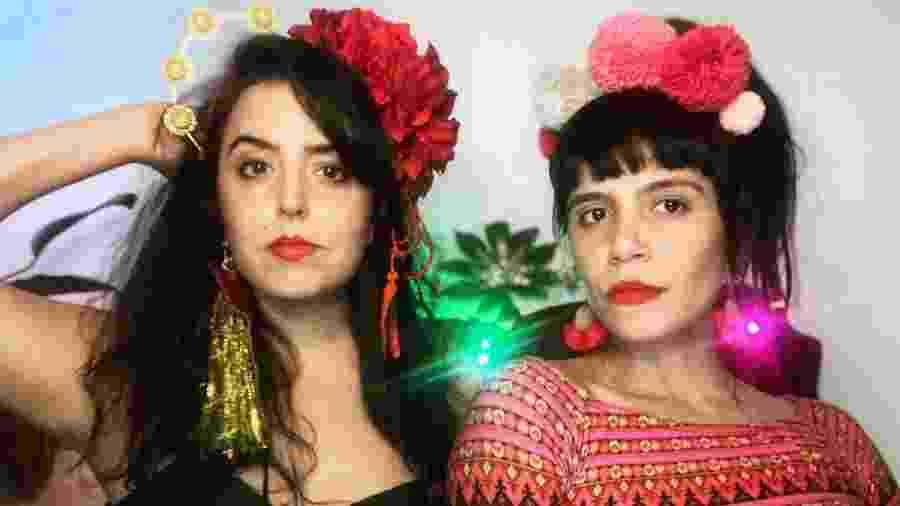 As humoristas Livia La Gatto e Renata Maciel - Arquivo pessoal