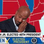 Van Jones, comentarista da CNN, chora após Biden vencer a eleição nos EUA - Reprodução/YouTube/CNN