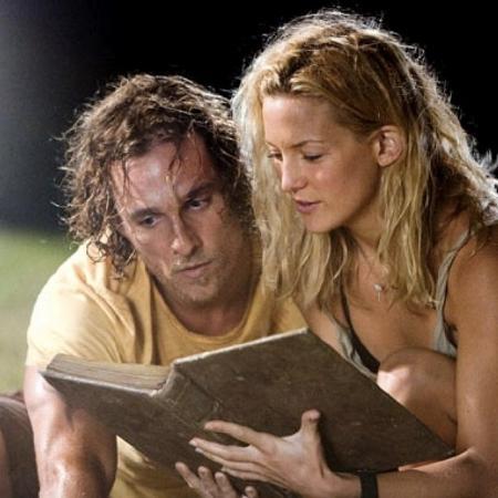 Matthew McConaughey e Kate Hudson fizeram par romântico em Um Amor de Tesouro (2008) - Reprodução