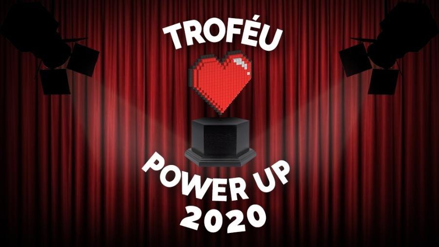 Troféu Power Up 2020 - Montagem: Allan Francisco / Pixabay