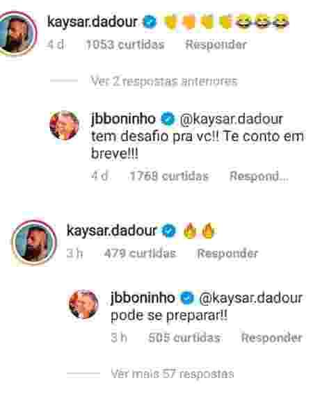 Kaysar - Reprodução/Instagram - Reprodução/Instagram