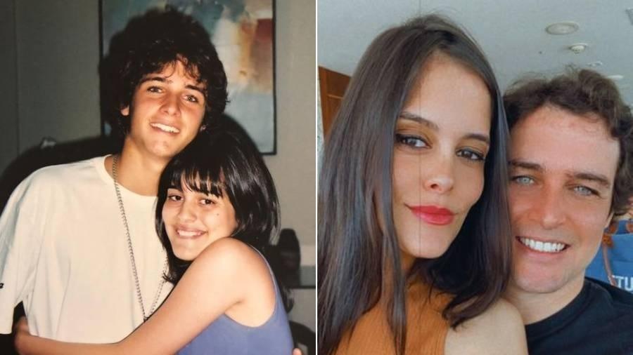 """Felipe Dylon reencontra fã de 18 anos atrás; os dois vivem uma """"amizade colorida"""" - Arquivo pessoal"""