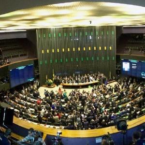 Câmara registrou apenas duas faltas no dia em que o processo de impeachment contra a presidente Dilma Rousseff foi aprovado pela maioria dos deputados do plenário
