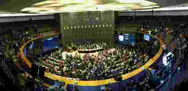 Deputados aprovaram pouca coisa enquanto impeachment tramitou na Câmara - Márcio Neves/UOL