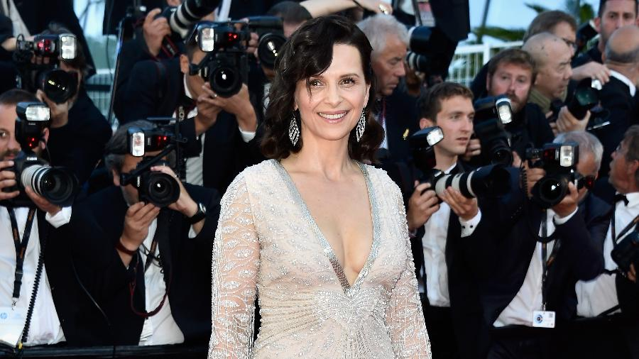 Juliette Binoche em Cannes, na França, em 2016 - Getty Images