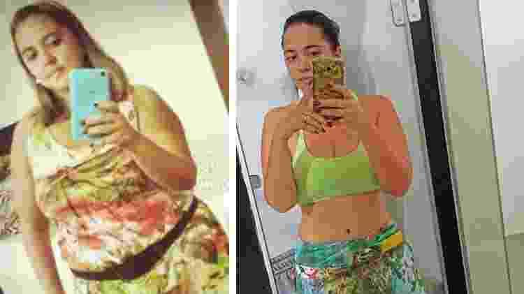 A corretora de seguros Mayara Oliveira, 28, de Araguari, em Minas Gerais, venceu a compuls?o alimentar e emagreceu 24 quilos - Arquivo Pessoal - Arquivo Pessoal