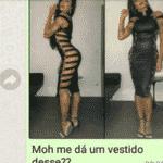 Teste do vestido - Reprodução/Facebook