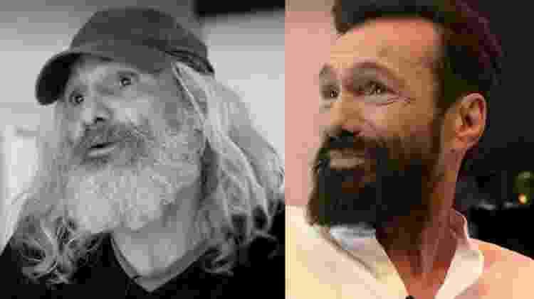 Antes e depois de José Antonio - Reprodução/Facebook - Reprodução/Facebook