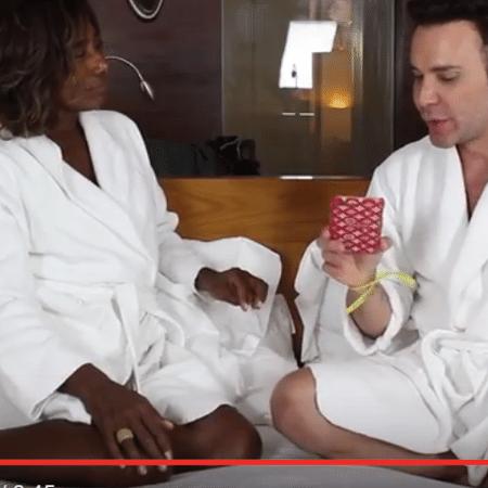 Glória Maria é entrevistada por Matheus Mazzafera - Reprodução/YouTube