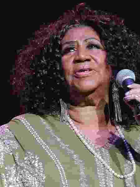 A cantora americana Aretha Franklin, que morreu em agosto após lutar contra um câncer - Getty Images