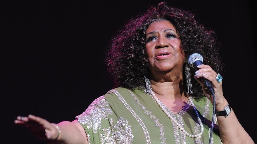 A cantora americana Aretha Franklin - Getty Images