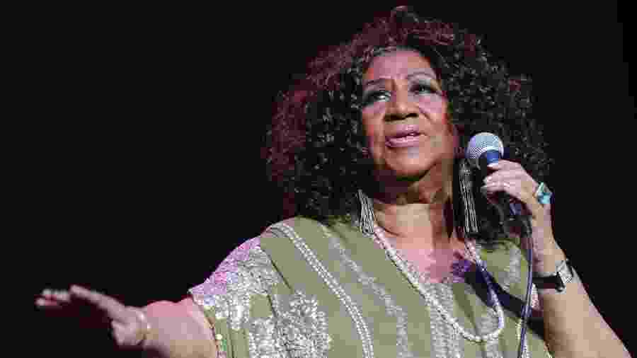 A cantora americana Aretha Franklin - Getty Images