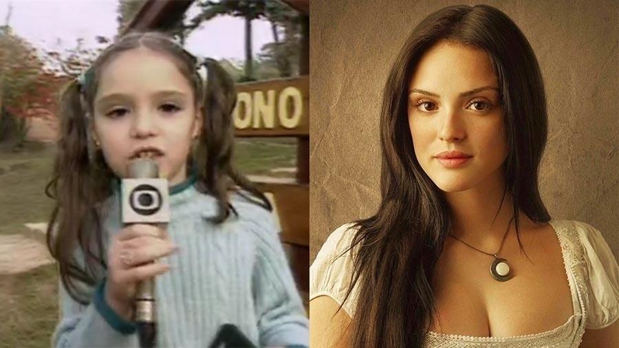 """A eterna Emília do """"Sítio do Picapau Amarelo"""" foi uma criança fofinha. Mas, aos 23 anos, a Anna de """"Novo Mundo"""" está mais bonita e prova que fica bela com qualquer cor do cabelo: loiro, castanho, preto... Ô sorte!"""