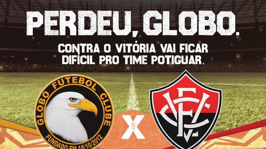 SBT provoca Globo em anúncio da Copa do Nordeste - Reprodução