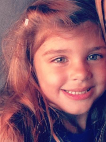 Sofia, a filha de Cauã Reymond e Grazi Massafera, completou 6 anos - Reprodução/Instagram