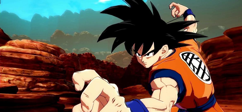 Goku Clássico - Dragon Ball FighterZ - Reprodução