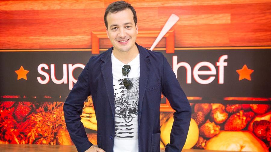 """Rafael Cortez integra o time de artistas que vão disputar o troféu """"Super Chef"""" no """"Mais Você"""" - João Cotta/Globo"""
