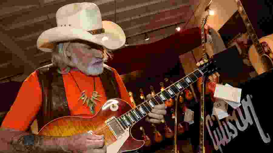 Dickey Betts, do Allman Brothers - Getty Images