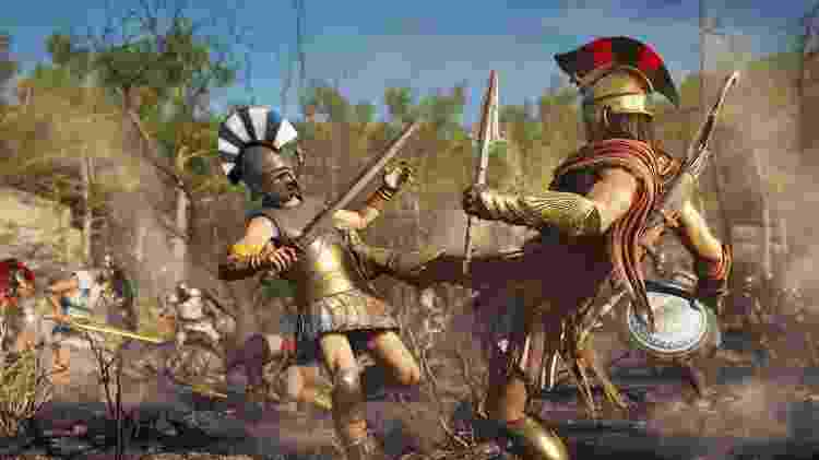 Assassin's Creed Odyssey é um dos games no Stadia - Divulgação
