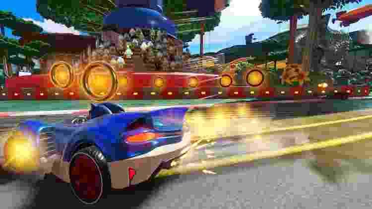 Team Sonic Racing - Argolas - Reprodução - Reprodução