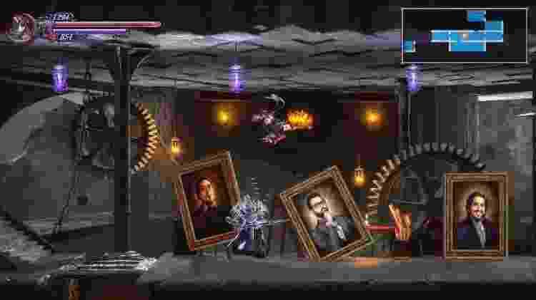 O jogo incluiu o retrato de apoiadores da campanha do Kickstarter em alguns cenários - Divulgação