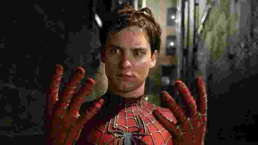Tobey Maguire em cena de Homem-Aranha 2 (2004) - Reprodução