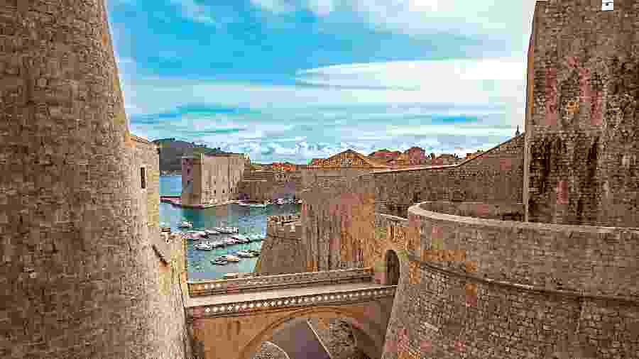 "Dubrovnik, na Croácia, aparece em 1º lugar no ranking da Europa ""instagramável"" - iStock"