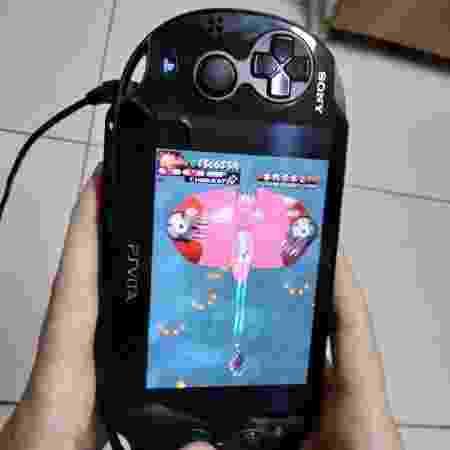 Vasara pode ser jogado em modo vertical no PS Vita - Reprodução