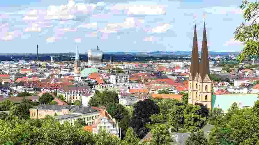 Bielefeld planejou uma festa para comemorar os 25 anos da piada sobre sua existência - Getty Images/iStockphoto