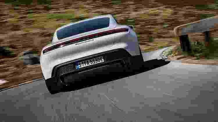 Porsche Taycan (traseira) - Divulgação/Porsche - Divulgação/Porsche
