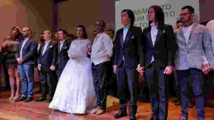 Casamento coletivo - Breno Damascena - Breno Damascena
