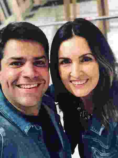 Lair Rennó e Fátima Bernardes - Reprodução/Instagram