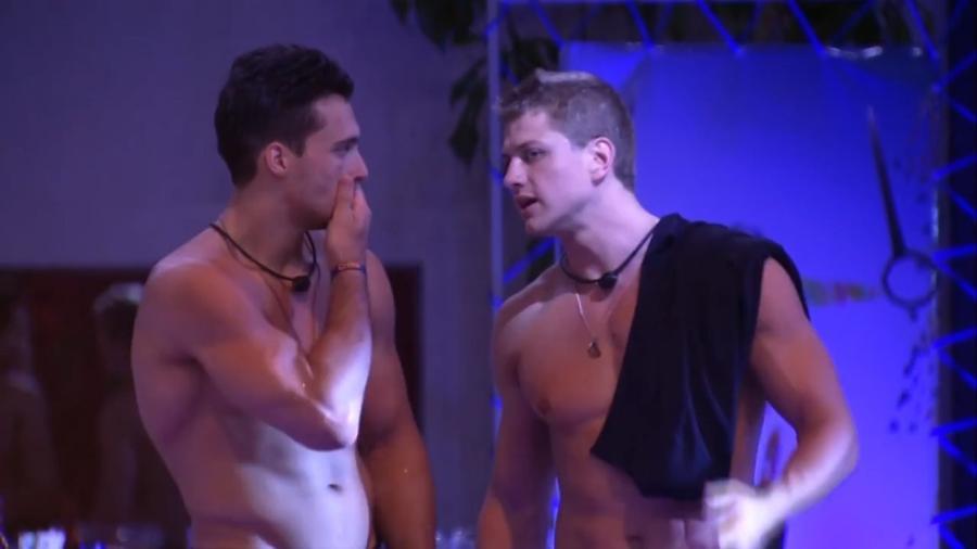 Petrix e Lucas conversam sobre sisters - Reprodução/Globoplay