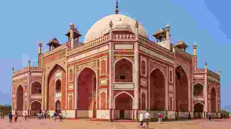 Túmulo de Humayun, em Nova Déli, na Índia - iStock