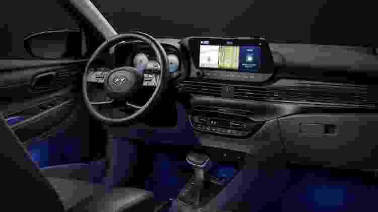Hyundai i20 painel - Divulgação - Divulgação