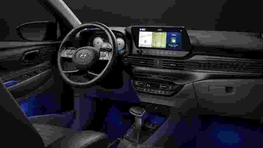 Interior do novo Hyundai i20 - Divulgação