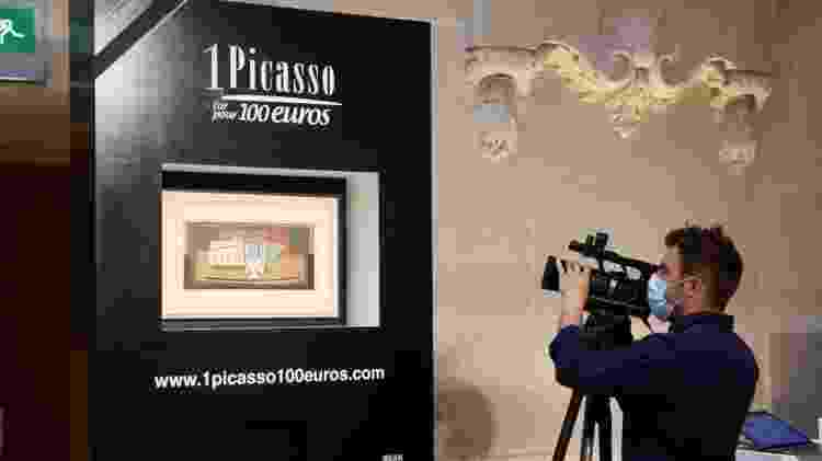O sorteio se chamava 'Um Picasso por R$ 100 euros' - Reuters - Reuters
