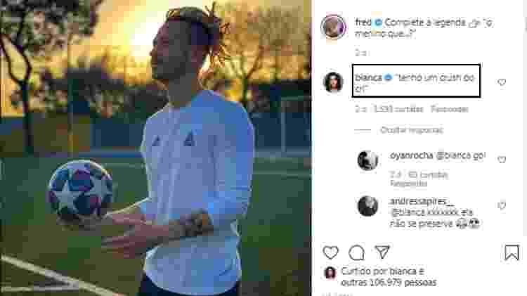 Boca Rosa dá cantada em Fred: 'Tenho um crush do crl' - Reprodução/Instagram - Reprodução/Instagram