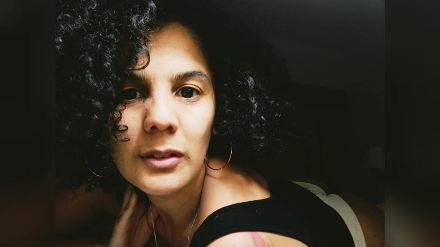 A mineira Santuzza de Souza é profissional do sexo há 17 anos - Arquivo pessoal
