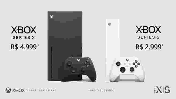 As versões do novo Xbox - Reprodução/Twitter - Reprodução/Twitter