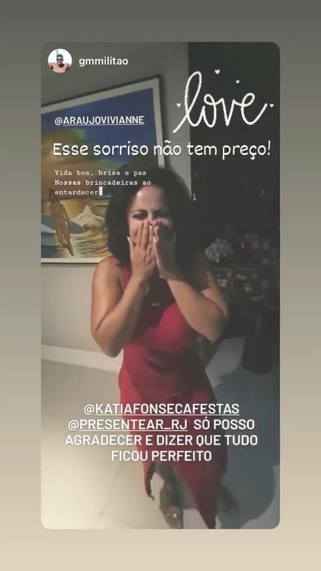 Guilherme Militão compartilhou momento da surpresa