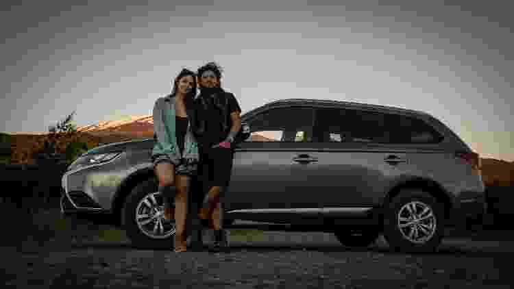 Camila Stano e o namorado, Nelson Ortiz de Zárate, exploraram o Chile de carro - Nelson Ortiz de Zárate - Nelson Ortiz de Zárate