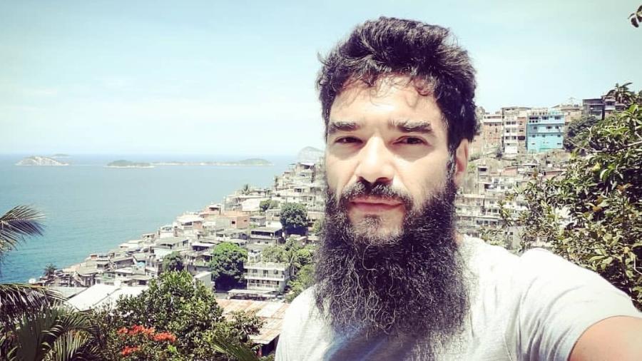 Caio Blat mostra visual barbudo aos 40 anos - Reprodução/Instagram @caio_blat