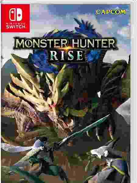Capa do jogo Monster Hunter Rise - Divulgação/Capcom - Divulgação/Capcom
